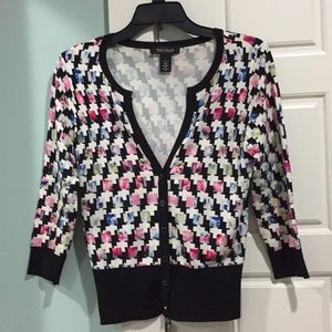 WHBM Snap-Front Cardigan